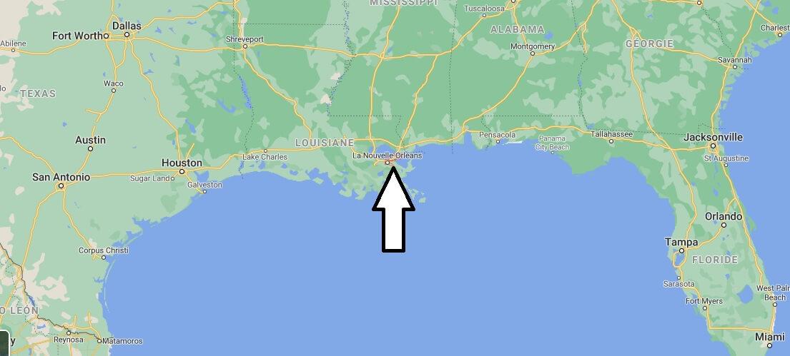 Où se trouve La Nouvelle-Orléans