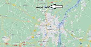 Où se trouve Lampertheim