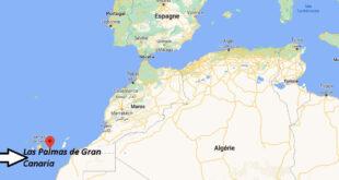 Où se trouve Las Palmas de Gran Canaria