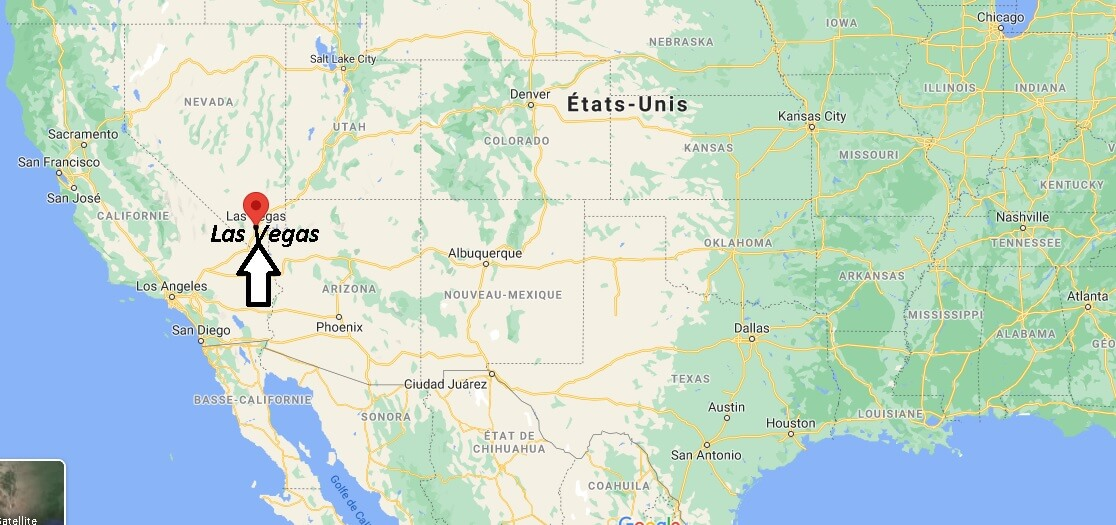 Où se trouve Las Vegas