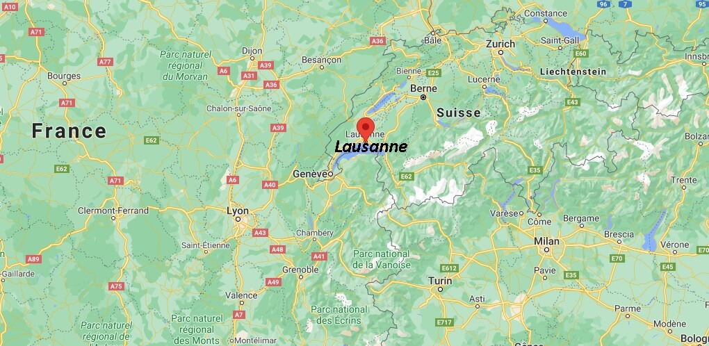 Où se trouve Lausanne