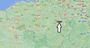 Où se trouve Liège