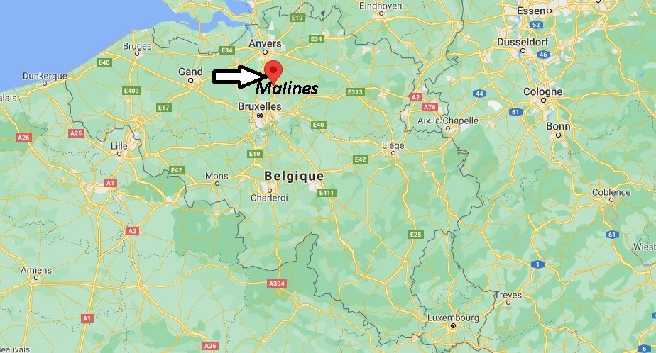 Où se trouve Malines