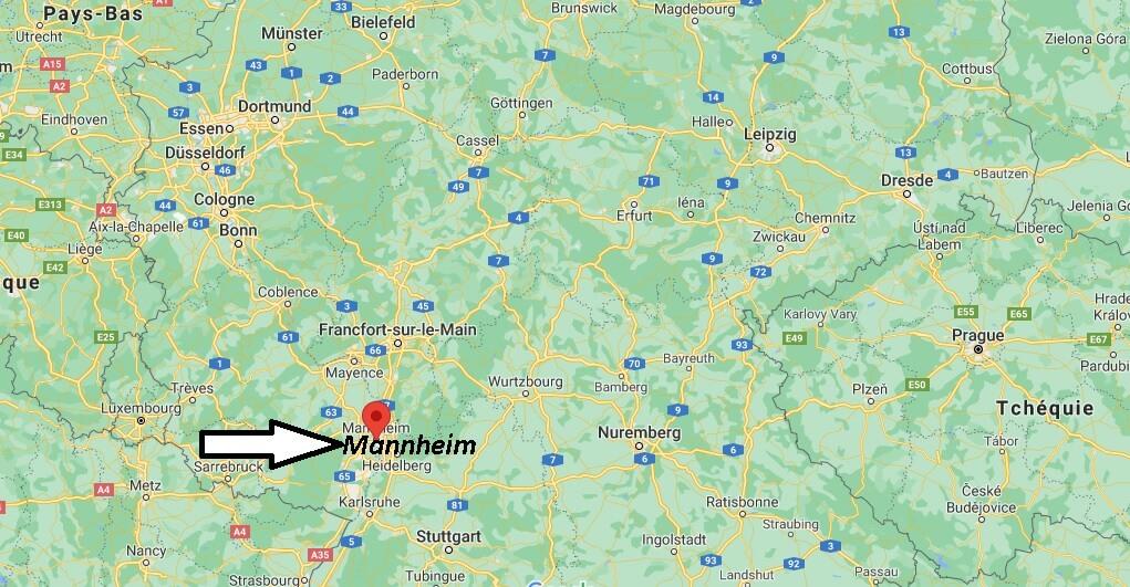 Où se trouve Mannheim