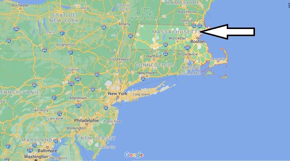 Où se trouve Massachusetts