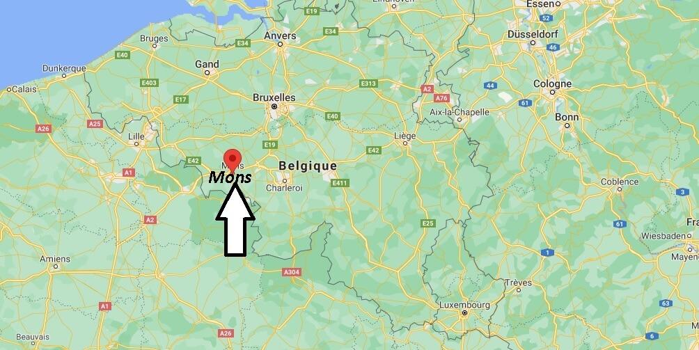 Où se trouve Mons