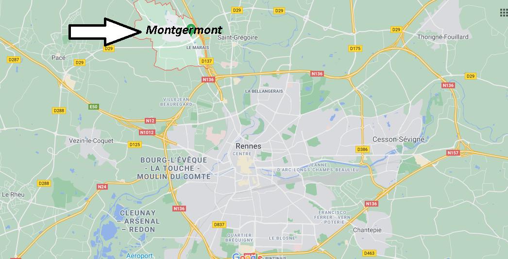 Où se trouve Montgermont