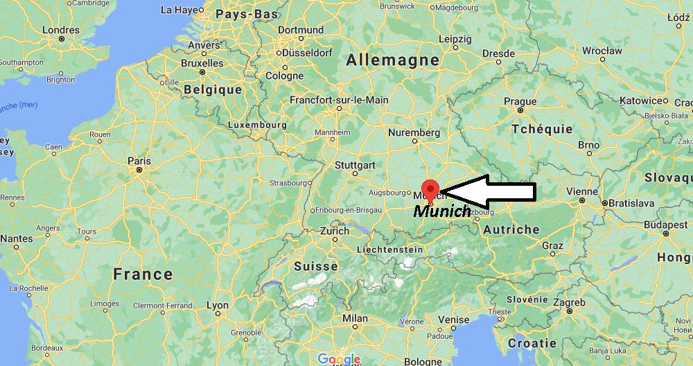 Où se trouve Munich