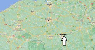 Où se trouve Namur