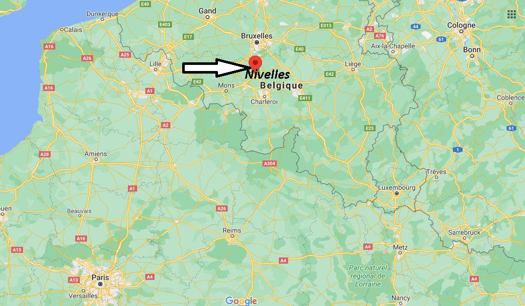 Où se trouve Nivelles