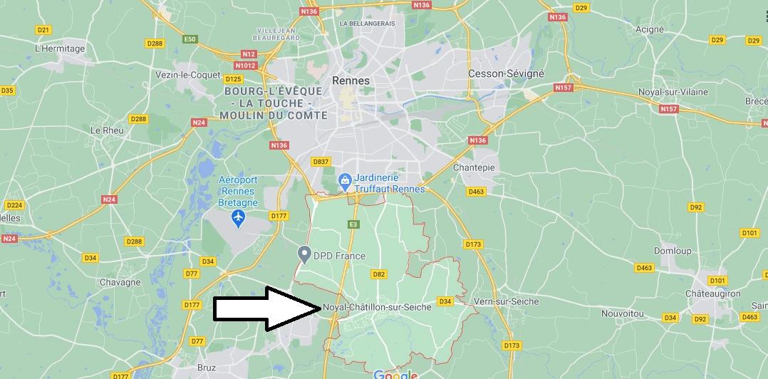 Où se trouve Noyal-Châtillon-sur-Seiche