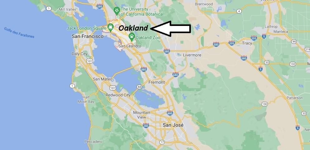 Où se trouve Oakland