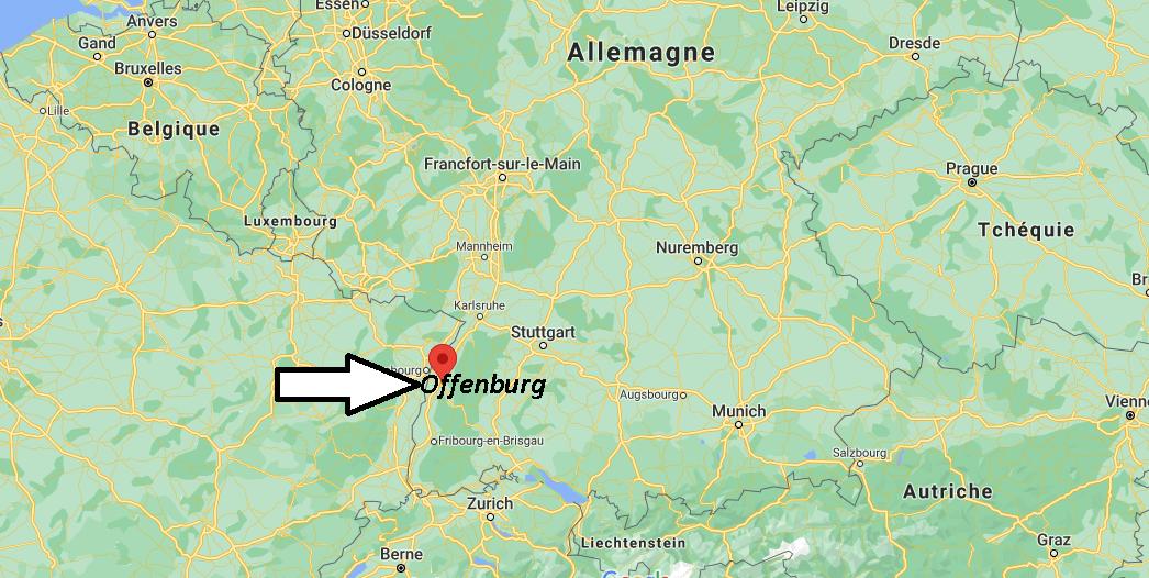 Où se trouve Offenburg