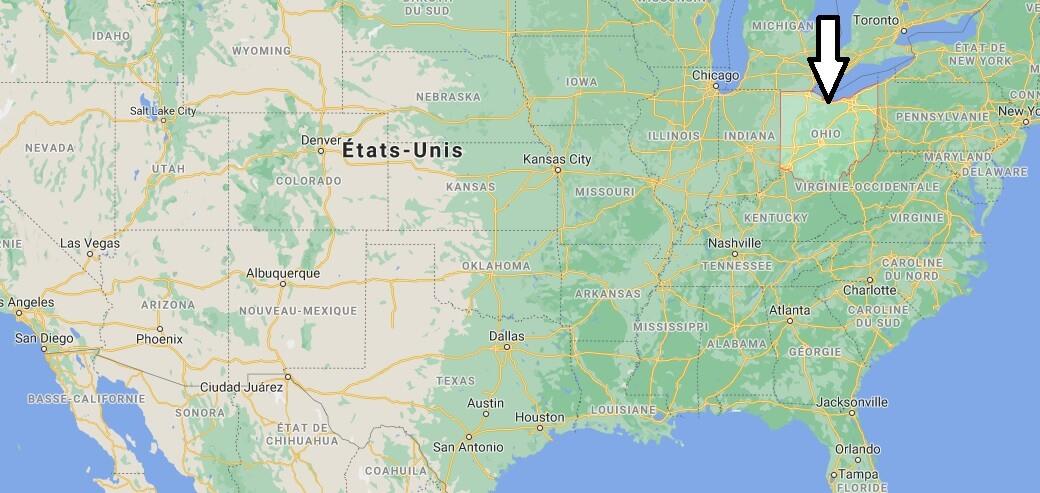 Où se trouve Ohio