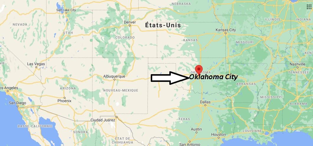 Où se trouve Oklahoma City