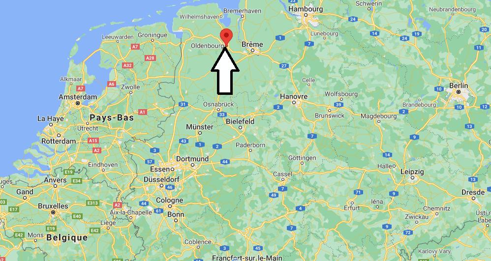 Où se trouve Oldenburg