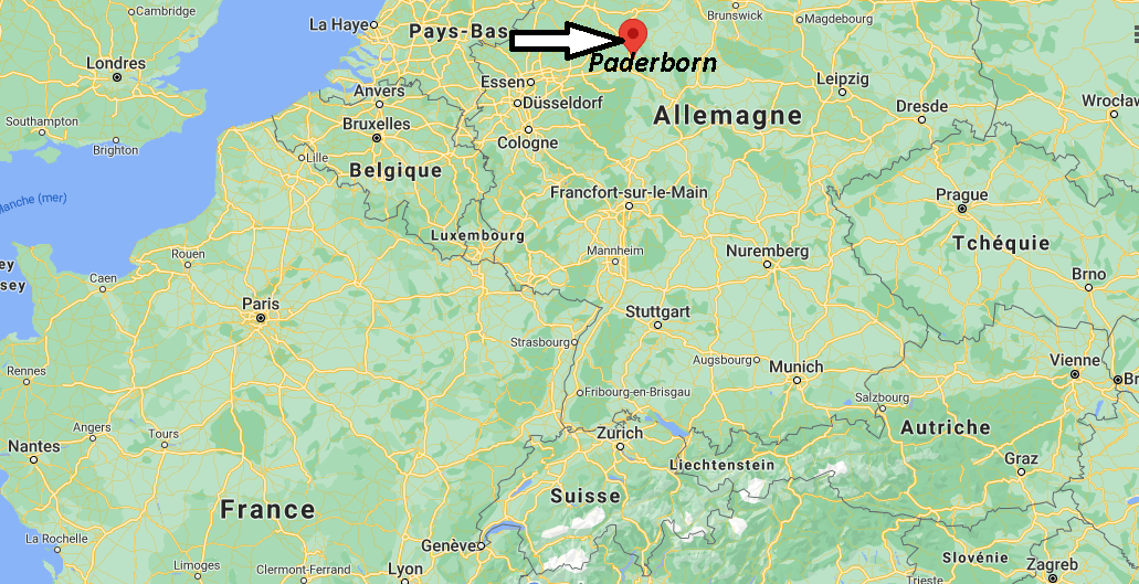 Où se trouve Paderborn