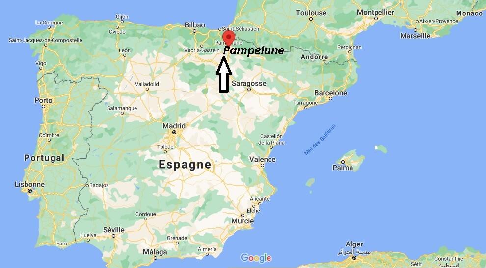 Où se trouve Pampelune