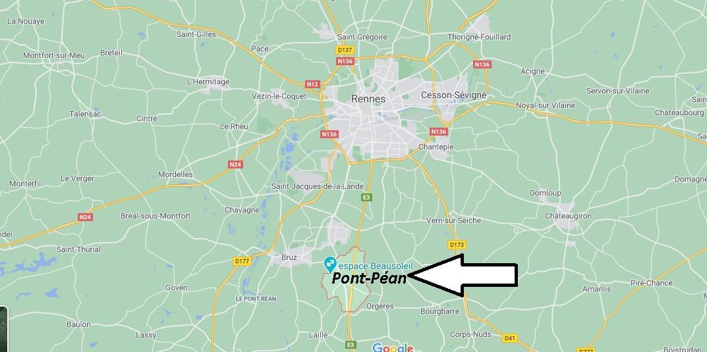 Où se trouve Pont-Péan