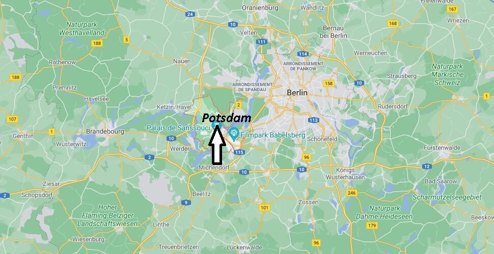 Où se trouve Potsdam