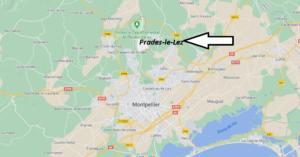Où se trouve Prades-le-Lez