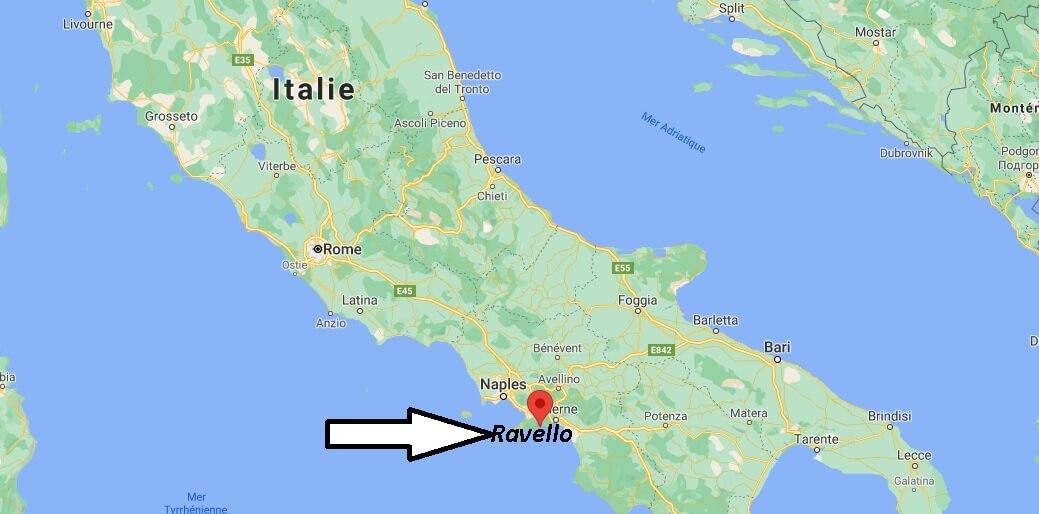 Où se trouve Ravello