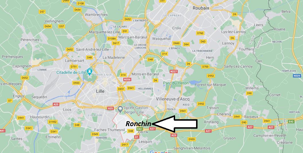 Où se trouve Ronchin