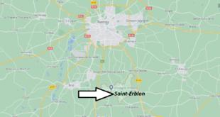 Où se trouve Saint-Erblon