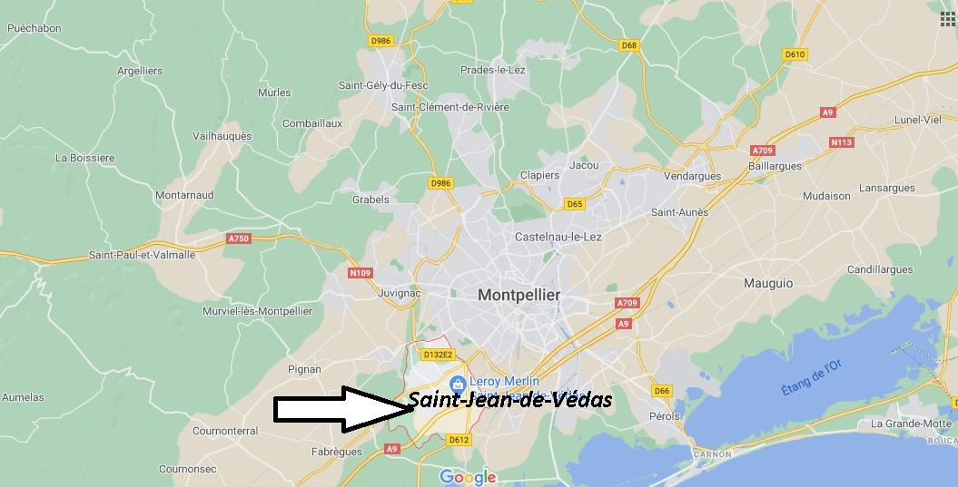 Où se trouve Saint-Jean-de-Védas
