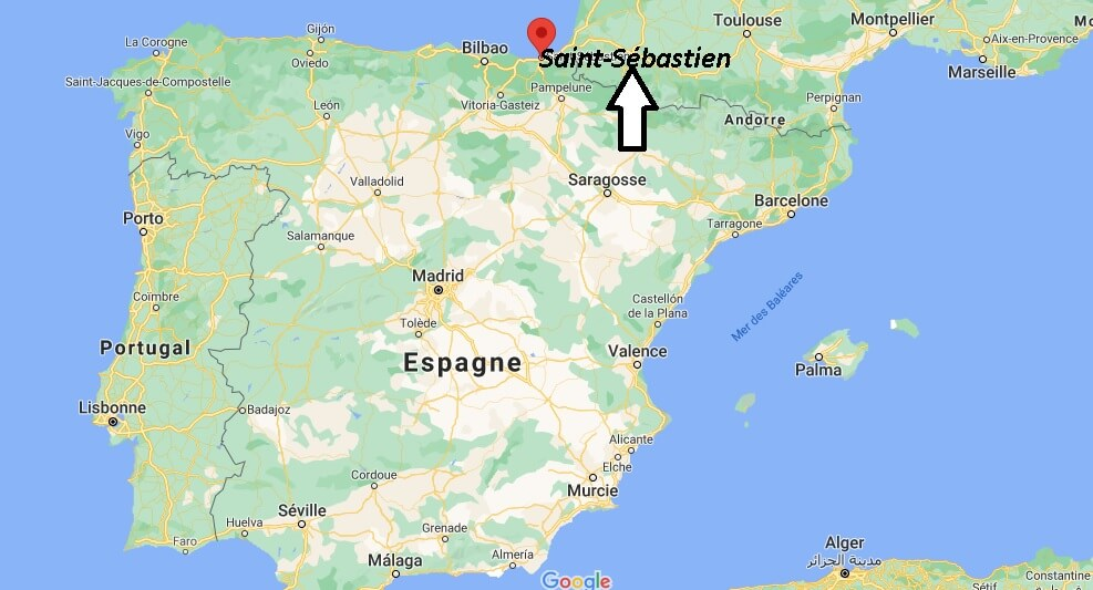 Où se trouve Saint-Sébastien