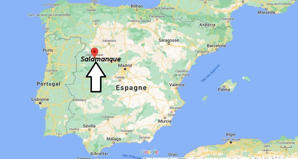 Où se trouve Salamanque