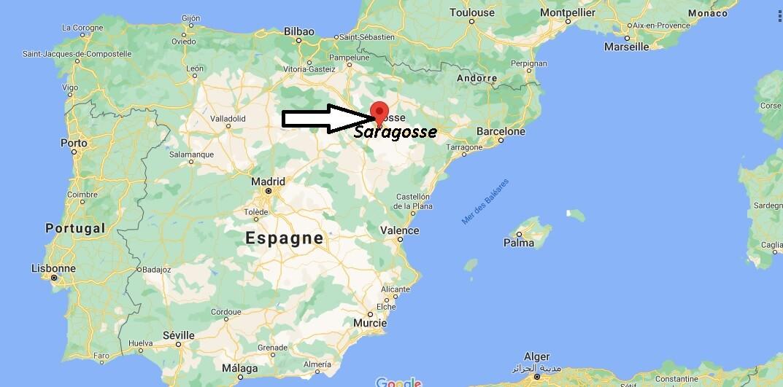 Où se trouve Saragosse
