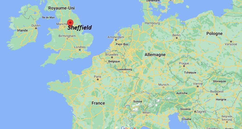 Où se trouve Sheffield
