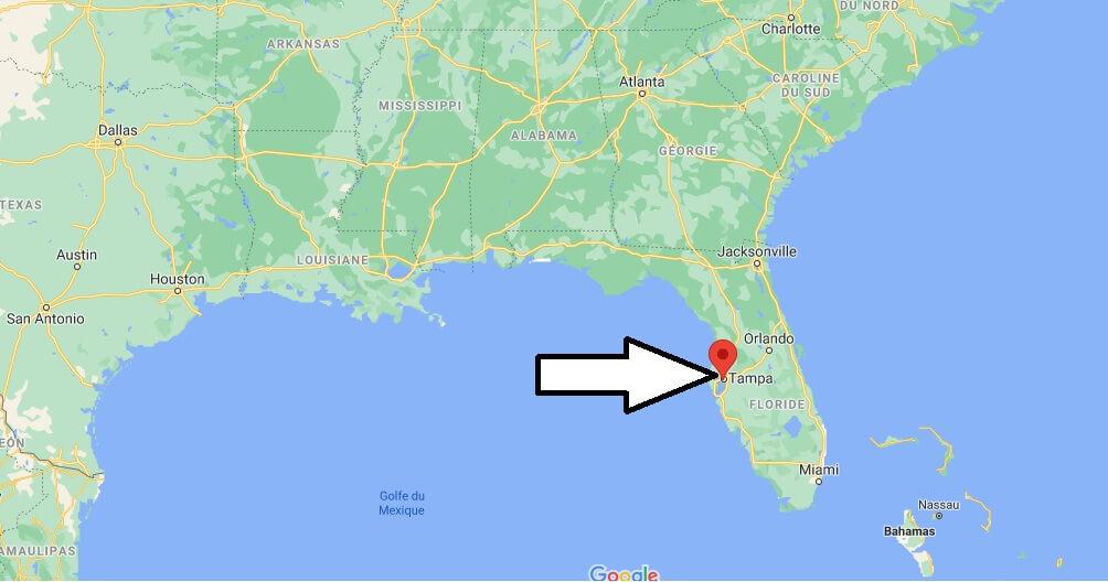 Où se trouve Tampa
