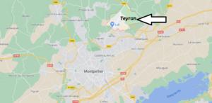 Où se trouve Teyran