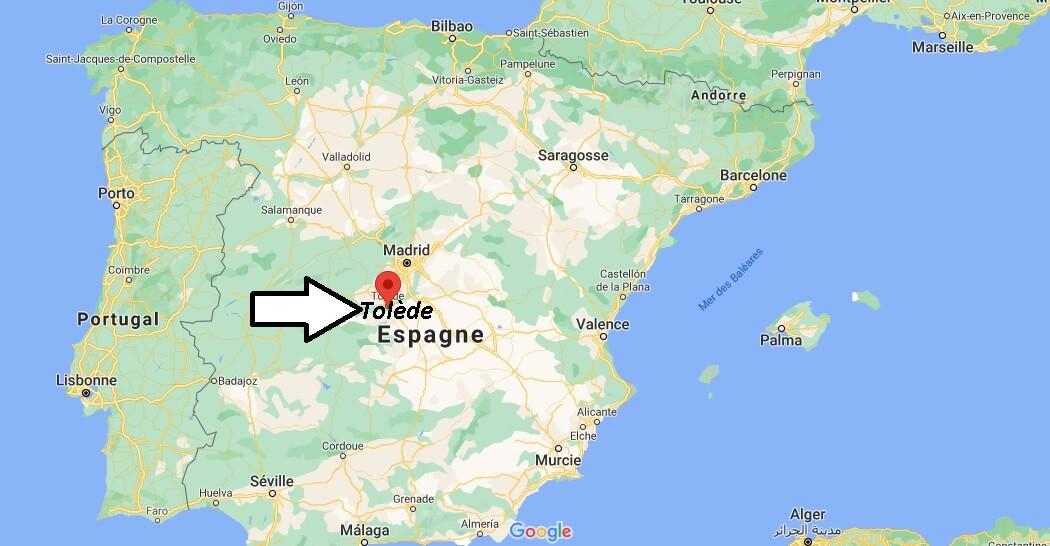 Où se trouve Tolède