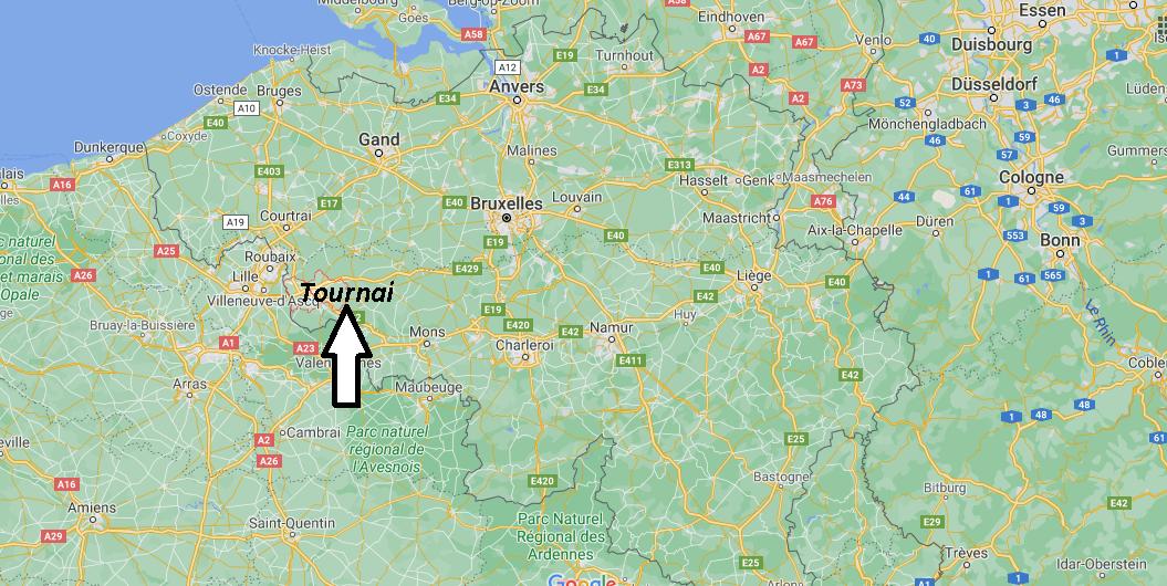 Où se trouve Tournai