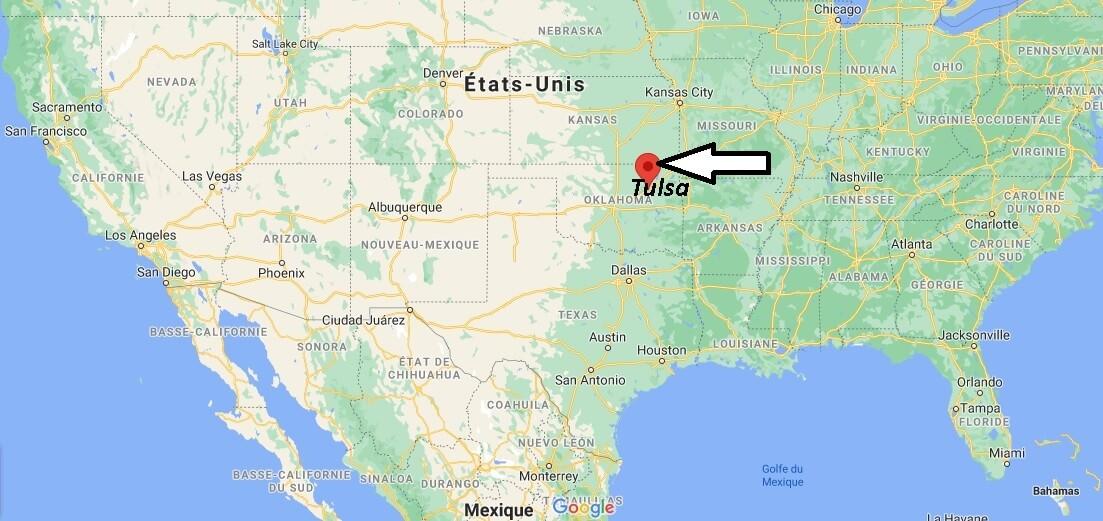 Où se trouve Tulsa