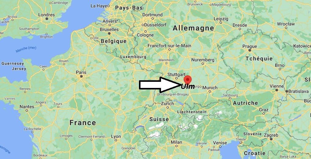 Où se trouve Ulm