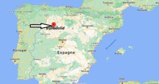 Où se trouve Valladolid