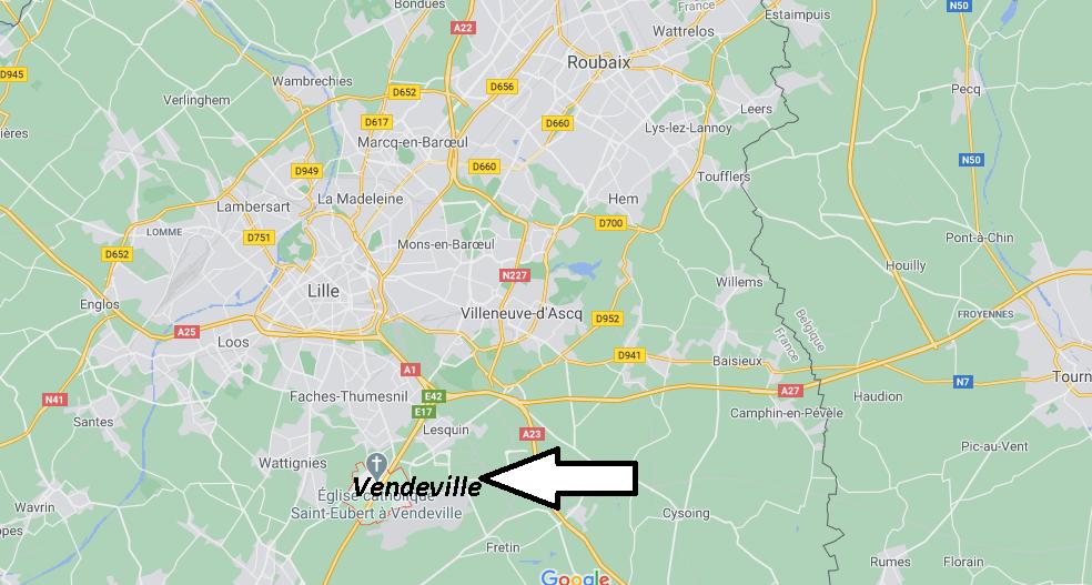 Où se trouve Vendeville