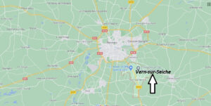 Où se trouve Vern-sur-Seiche