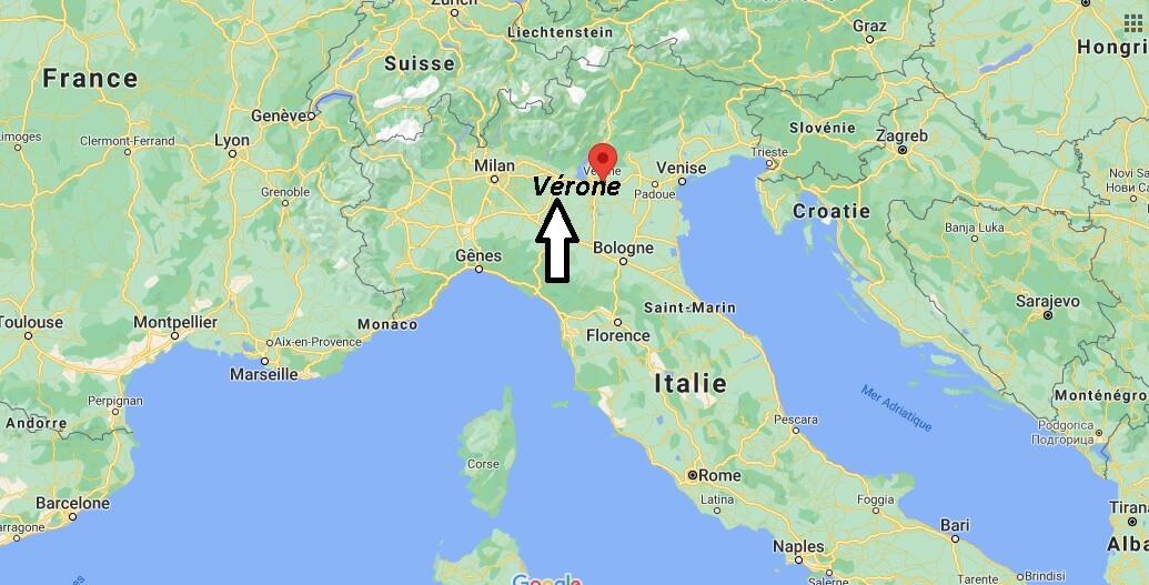 Où se trouve Vérone
