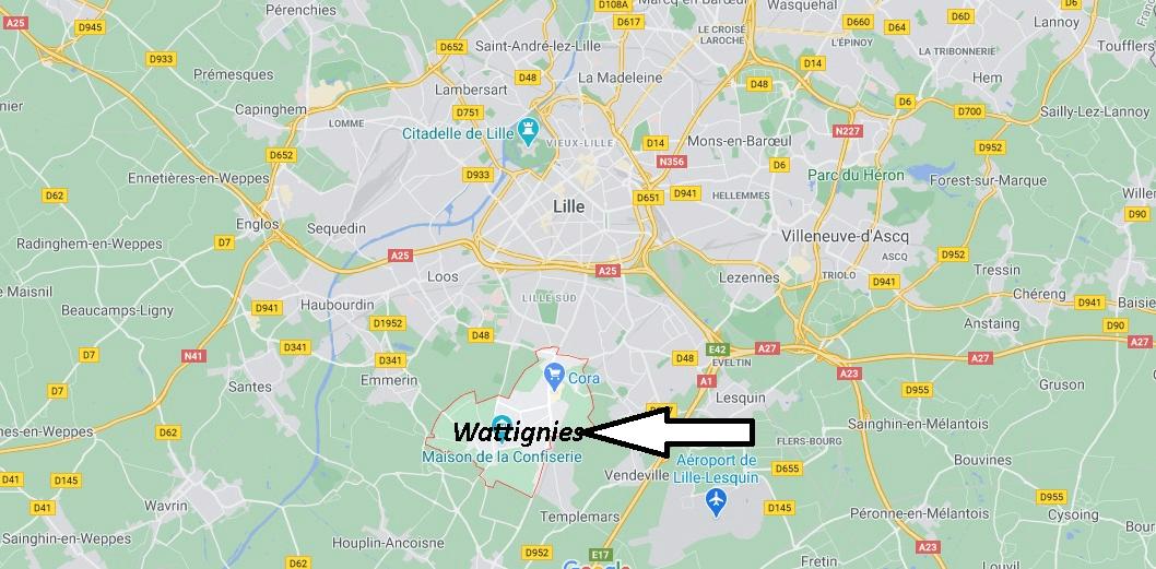 Où se trouve Wattignies