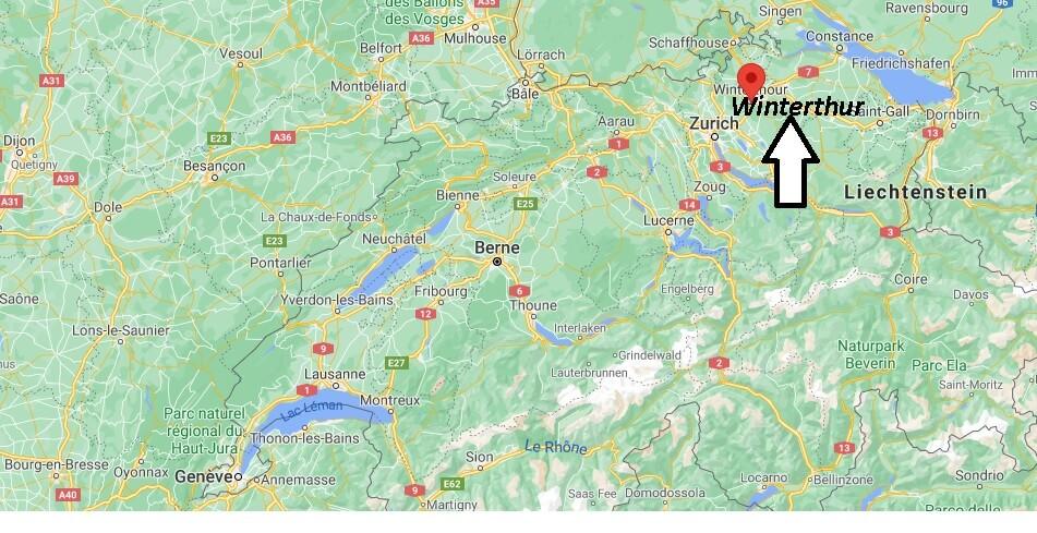 Où se trouve Winterthur