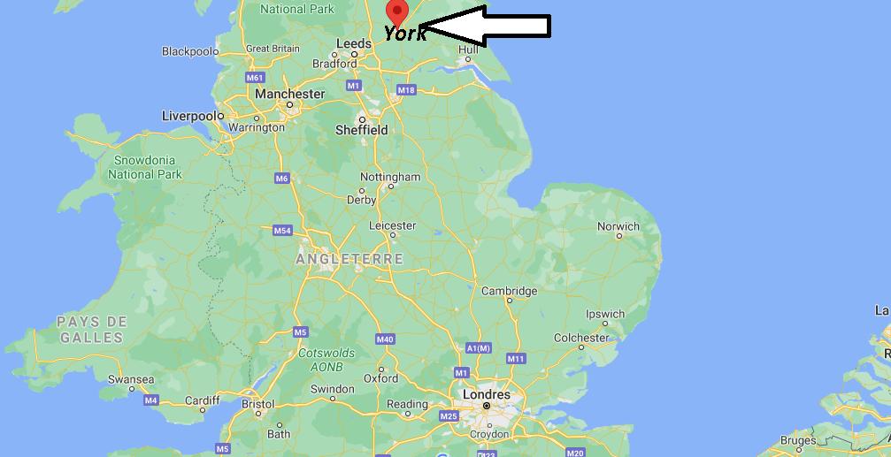Où se trouve York