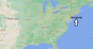 Où se trouve du New Jersey