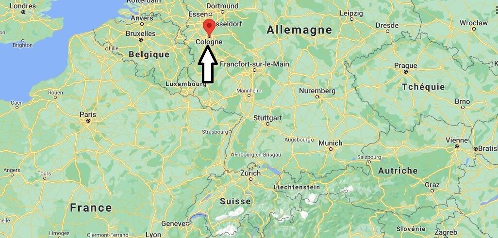 Où se trouve la Cologne