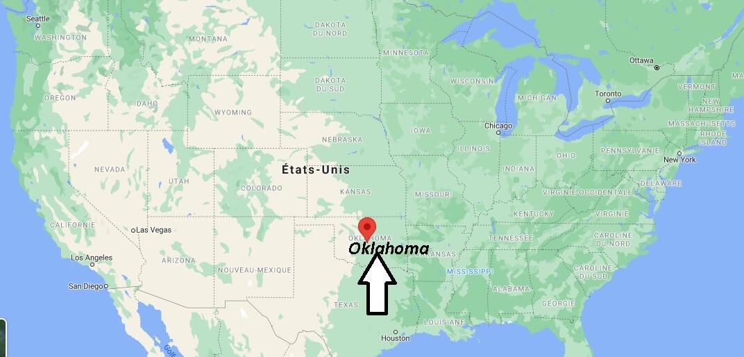 Où se trouve la Oklahoma