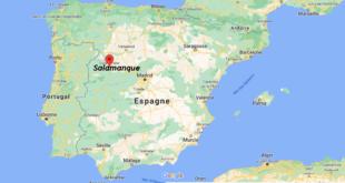 Où se trouve la ville de Salamanca